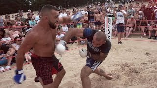 POLAND PITBULL vs VAMPIRE !!!! CRAZY FIGHT !!!