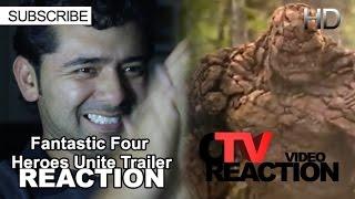 Fantastic Four - Heroes Unite Trailer REACTION!!!