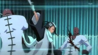 Byakuya Kuchiki vs Zommari Rureaux Full Fight Eng Dub