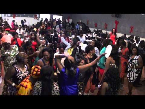 2. Aweil Christmas celebration on Dec 25 2014 in Calgary