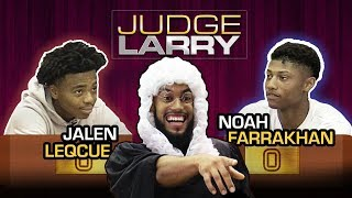 """""""I Can Take Your Shawty If I Want."""" Jalen Lecque & Noah Farrakhan Fight For BIGGEST LADIES MAN 😂"""