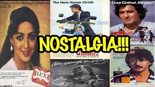 Bollywood Vintage Advertisements| Bollywood's jog down the memory lane| hema Malini| Salman Khan
