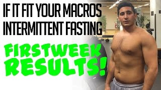 IIFYM & INTERMITTENT FASTING | Road to 6-pack Ep. 2