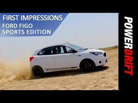 2017 Ford Figo Sports Edition - What's New? : PowerDrift