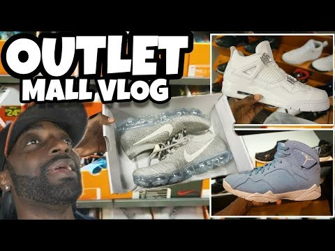 CRAZY STEALS AT NIKE OUTLET MALL VLOG!!!