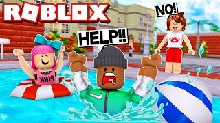 ESCAPE THE SWIMMING POOL OBBY IN ROBLOX