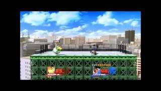 Super Smash Bros. Wii U Little Mac (Shinra) The Peoples Champion vs. TARM (Bowser Jr.)