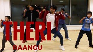 RAANGU RAANGU song | THERI DANCE cover | VIJAY | G.V.Prakash Kumar | @JeyaRaveendran choreography