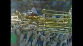 1984 Olympic All American Marching Band Opening Ceremonies part 2