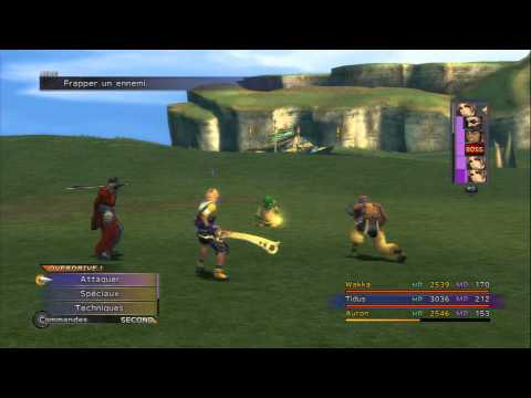 Final Fantasy X HD Remaster [FR] / Extra#XP facile Don Tomberry