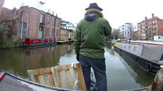 Broadway Market - A winter narrowboating adventure