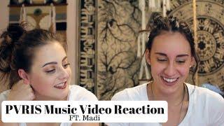 PVRIS Music Video Reaction (FT.Madi)