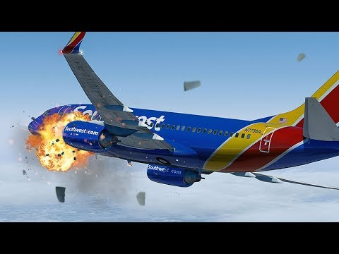 Xxx Mp4 Terrifying Moments As Engine Explodes At 33 000ft Uncontained Failure Southwest Airlines 1380 3gp Sex