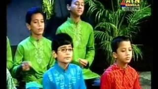 Sundor prithibi gorte hole Islamic song by kids