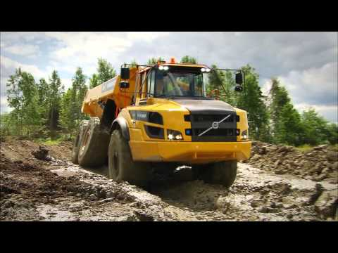Volvo serie G dúmper articulado//Volvo G series Articulated haulers video promocional