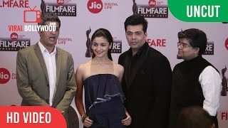 UNCUT - JIO 62nd Filmfare Awards 2017 | Press Conference | Alia Bhatt, Karan Johar, Jitesh Pillai