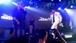 Lenny Tavarez Ft De la Guetto | Fantasías Remix | En Vivo @ Guatemala