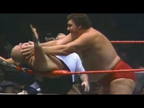Andre the Giant vs King Kong Bundy 1985