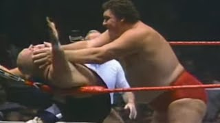 Andre the Giant vs King Kong Bundy 1985