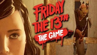 PLAYING AS JASON - Friday the 13th Multiplayer [Part 1]