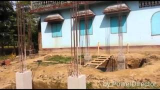 Bangladesh new house on construction first video