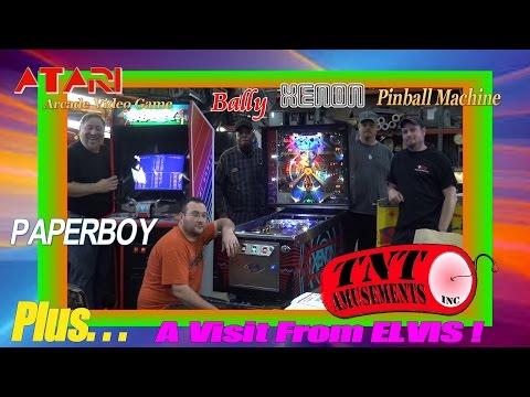 Xxx Mp4 1115 Bally XENON Pinball Machine Amp Atari PAPERBOY Video Game TNT Amusements 3gp Sex