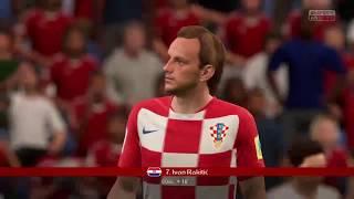 PS4 FIFA 18 Gameplay Croatia vs Denmark [HD]