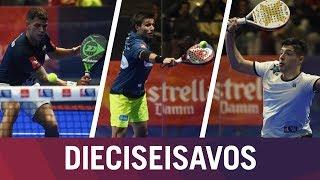 Resumen Jornada 2 de Dieciseisavos de Final | Estrella Damm Catalunya Master 2018
