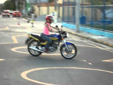 Treino de moto Janaina Nascimento