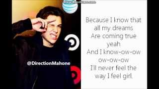 Austin Mahone - U Lyrics [STUDIO VERSION]