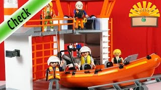 KÜSTENWACHSTATION mit LEUCHTTURM! Playmobil 5539 City Action Film deutsch