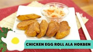 Resep Chicken Egg Roll ala Hokben
