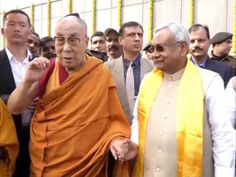 Dalai Lama reaches India's eastern Bodh Gaya city for Buddhist festival