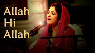 Sufi Music: Allah Hi Allah- Smita Bellur Sufi singer