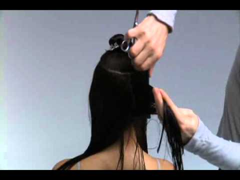 Free Hairdressing Tutorial Video - Hair Cutting Free Video Part 1 / 2