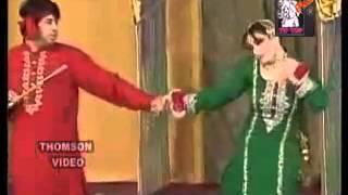 Pakistani Stage Dance   Nargis   Dhola Azlaan Too Reshman