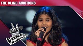 Deblina Nath Performs on Roj Roj Aankhon Tale | The Voice India Kids | Episode 9