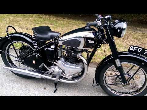 Bsa A7 1950 Rigid Twin For sale