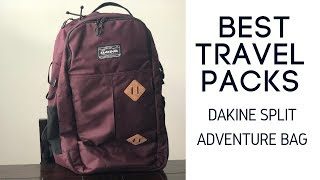 Best Travel Packs: Dakine Split Adventure Travel Backpack Review