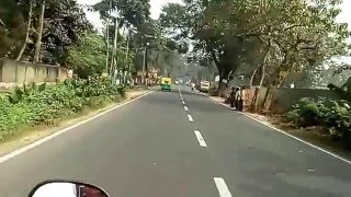 Road to Bangladesh Border at Bongaon from Kolkata - Drive on NH35 / Jessore Road