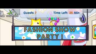 Fashion Show Party! Fantage music