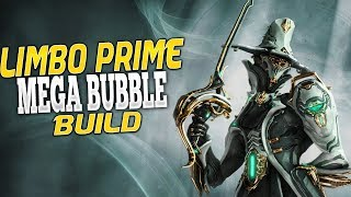 Warframe: Limbo Prime Mega Bubble Build (No Forma)