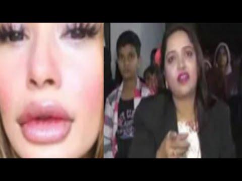 Xxx Mp4 SHABNAM SHAIKH Angry Reaction On SARA KHAN Lip Surgery Controversy 3gp Sex