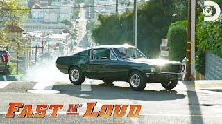 Behind the Scenes: Recreating the Famous Steve McQueen Bullitt Car Chase | Fast N' Loud