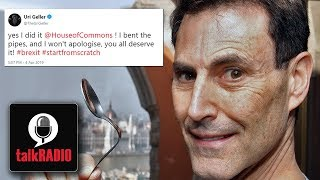Brexit | Can Uri Geller Use Paranormal Powers To Stop Brexit Happening?