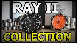 ORIENT RAY II COLLECTION - Best Diver Watch Under 250