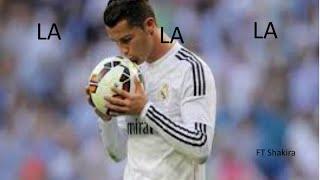 Cristiano Ronaldo ► LA LA LA ft Shakira 13-15 HD