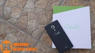 Unboxing Alcatel One Touch Flash 2 Indonesia