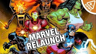 Why Marvel's New Relaunch Has Everyone Confused! (Nerdist News w/ Jessica Chobot)