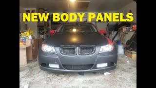 Rebuilding A Wrecked BMW E90 Pt. 2: New Parts